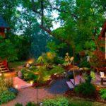 Красивые фото дач. Красивые дома, участки. 16 фотографий